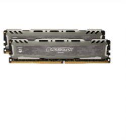 CRUCIAL - Ballistix SportsLT DDR4 16GB Kit (2x8GB) 2666M GREY