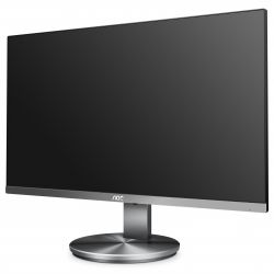 AOC - Pro-line I2790VQ - Monitor LED - 27P - 1920 x 1080 Full HD (1080p) - IPS - 250 cd/m² - 1000:1 - 4 ms - HDMI, VGA, DisplayPort - altifalantes - cinza
