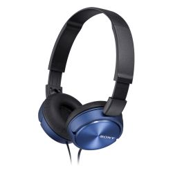 SONY - MDR-ZX310L Azul - Auscultadores de tipo auricular fechado