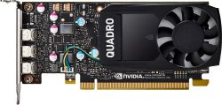 HP - NVIDIA QUADRO P400 2GB KIT C/ 2 ADAPTADORES
