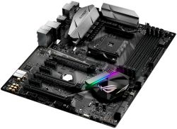 ASUS - Board ROG STRIX B350-F GAMING AMD AM4 B350 4DDR4 64GB HDMI+DP GBLAN 4SATA3 8USB3.1