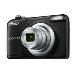 NIKON - Coolpix A10 BLACK + Estojo - 16,1Mp CCD - w5x - 2,7P HD