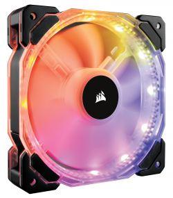 CORSAIR - VENTILADOR CAIXA CORSAIR HD140 RGB LED SINGLE FAN NO CONTROLLER CO-9050068-WW