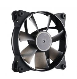 COOLER MASTER - MasterFan Pro 120 Air Flow 120mm case fan ideal for exhausting large volumes of air quickly out of the case. Recommended to use on the rear or top panels.