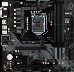 ASROCK - PLACA H370M PRO4, INTEL, 1151, H370, 4DDR4, 64GB, VGA+DVI+HDMI, GBLAN, 6SATA3, 2USB3.1, MATX