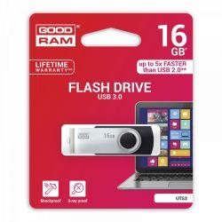 GOODRAM - 16GB TWISTER BLACK USB 3.0