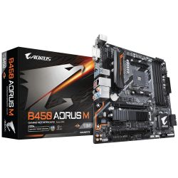 GIGABYTE - B450 AORUS M (REV. 1.0) AMD B450 SOCKET AM4 MICRO ATX