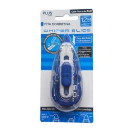 PLUS - Corrector Fita Plus WH-015BC 5mmx12mts-Blister 1un