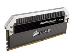 CORSAIR - DDR4 3333MHZ 64GB 4 X 288 UNBUFFERED 16-18-18-36 DOMINATOR® PLATINUM 1.35 XMP 2.0 AIRFLOW PLATINUM DOMINATOR FAN INCLUDED