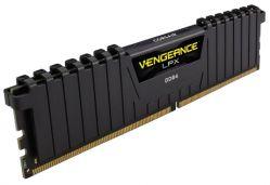 CORSAIR - DDR4 3000MHZ 32GB 4 X 288 UNBUFFERED 1517-17-35 VENGEANCE LPX BLACK HEAT SPREADER 1.35 XMP 2.0