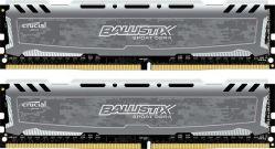 CRUCIAL - Ballistix SportsLT DDR4 8GB Kit (2 x 4GB) 2400M GREY