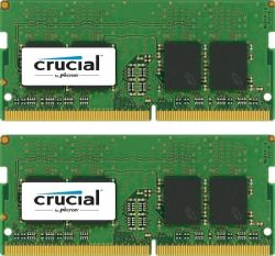 CRUCIAL - CRUCIAL 16GB KIT DDR4 2400 MT/S 8GBX2 SODIMM 260PIN DR X8 SINGLE