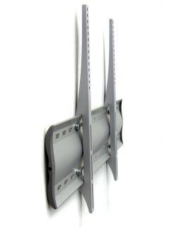 ERGOTRON - WM Low Profile Wall Mount, XL - Kit de montagem (placa de parede, fixadores, 2 suportes) para painel plasma / LCD - alumínio, aço - prata - tamanho de tela: a partir de 42P - montá