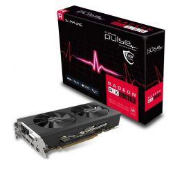 SAPPHIRE - RADEON RX 580 8GB GDDR5 PULSE CTLR PCI-E 2XHDMI DVI-D 2XDP OC W/BP