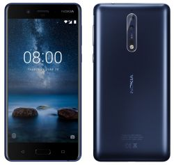 NOKIA - SMARTPHONE 8 DS 5.3PIPS HD QUALCOMM SNAPDRAGON 4GB/64GB ANDROID 7.1. MATTE BLUE - 11NB1L01A26
