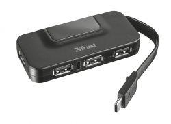 TRUST - HUB TRUST - OILA USB-C TO 4 PORT STANDARD USB 2.0 - 21320