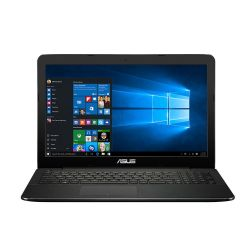 ASUS - K555QG - AMD A10-9620P(7th Gen, 4 Cores, 2MB L2), 1TB HDD, 8GB (DDR4 ON BD), 15.6P Full HD, AMD Radeon R5 W/ 2 GB, CB-802.11AC_WW+BT, W10 64B - Preto - válido para as unid. pré