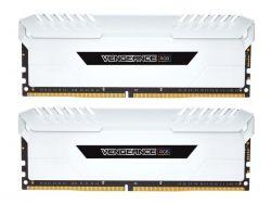 CORSAIR - RAM DDR4 16GB 2X8GB PC 3000 VENGEANCE WHITE CMR1