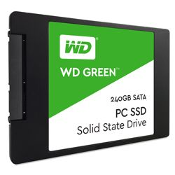 WESTERN DIGITAL - SSD WD GREEN SATA 2.5P 240GB 3D1-WDS240G2G0A