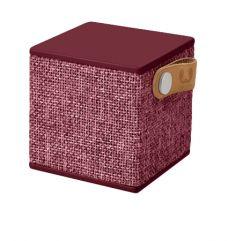 SITECOM - Fresh n Rebel Rockbox Cube - Fabriq Edition - altifalante - para utilização portátil - sem fios - Bluetooth - 3 Watt - rubi