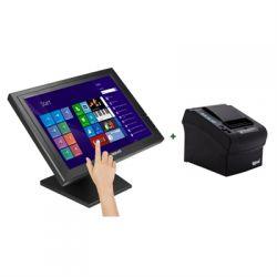 iggual - KIT Monitor Táctil 15P + Impressora térmica