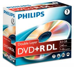 PHILIPS - DVD+R 8,5GB DL 8x JC (5)