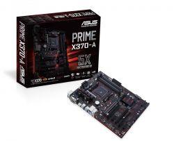 ASUS - PRIME X370-A AMD AM4 X370 4DDR4 64GB VGA+DVI+HDMI GBLAN 6SATA3 8USB3.1