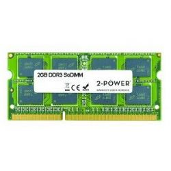 2-POWER - 2GB DDR3 1066MHZ DR SODIMM