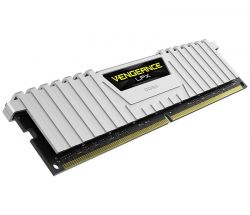 CORSAIR - RAM DDR4 16GB 2X8GB PC 3000 VENGEANCE LPX WHITE