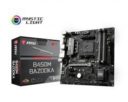 MSI - B450M BAZOOKA AMD B450 SOCKET AM4 MICRO ATX