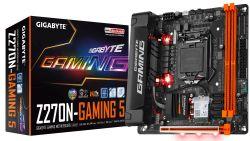 GIGABYTE - GA-Z270N-GAMING 5 S1151 Z270 CPNT MITX U3.1+M2 SATA 6GB/S DDR4 IN - GA-Z270N-GAMING 5