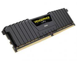 CORSAIR - Ram DDR4 16GB 2X8GB PC 2400 VENGEANCE LPX BLACK CMK16GX4M2Z2400C16