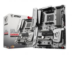 MSI - X370 XPOWER GAMING TITANIUM AMD AM4 X370