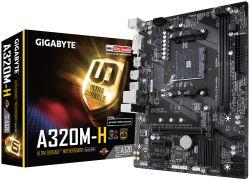 GIGABYTE - MB AMD A320 SKT AM4 2XDDR4 /1X DVI/1X HDMI/ 1X D-SUB - A320M-S2H REV. 2