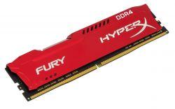 HYPERX - DDR4 8GB 2400MHz CL15 HyperX FURY Red