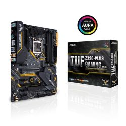 ASUS - MOTHERBOARD TUF Z390-PLUS GAMING(WI-FI), SK 1151/4XDDR4/HDMI/DP/6 USB 3.1/ ATX