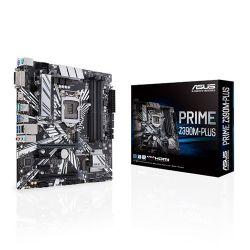 ASUS - MOTHERBOARD PRIME Z390M-PLUS, SK 1151/4XDDR4/DVI/HDMI/6 USB 3.1/ MATX