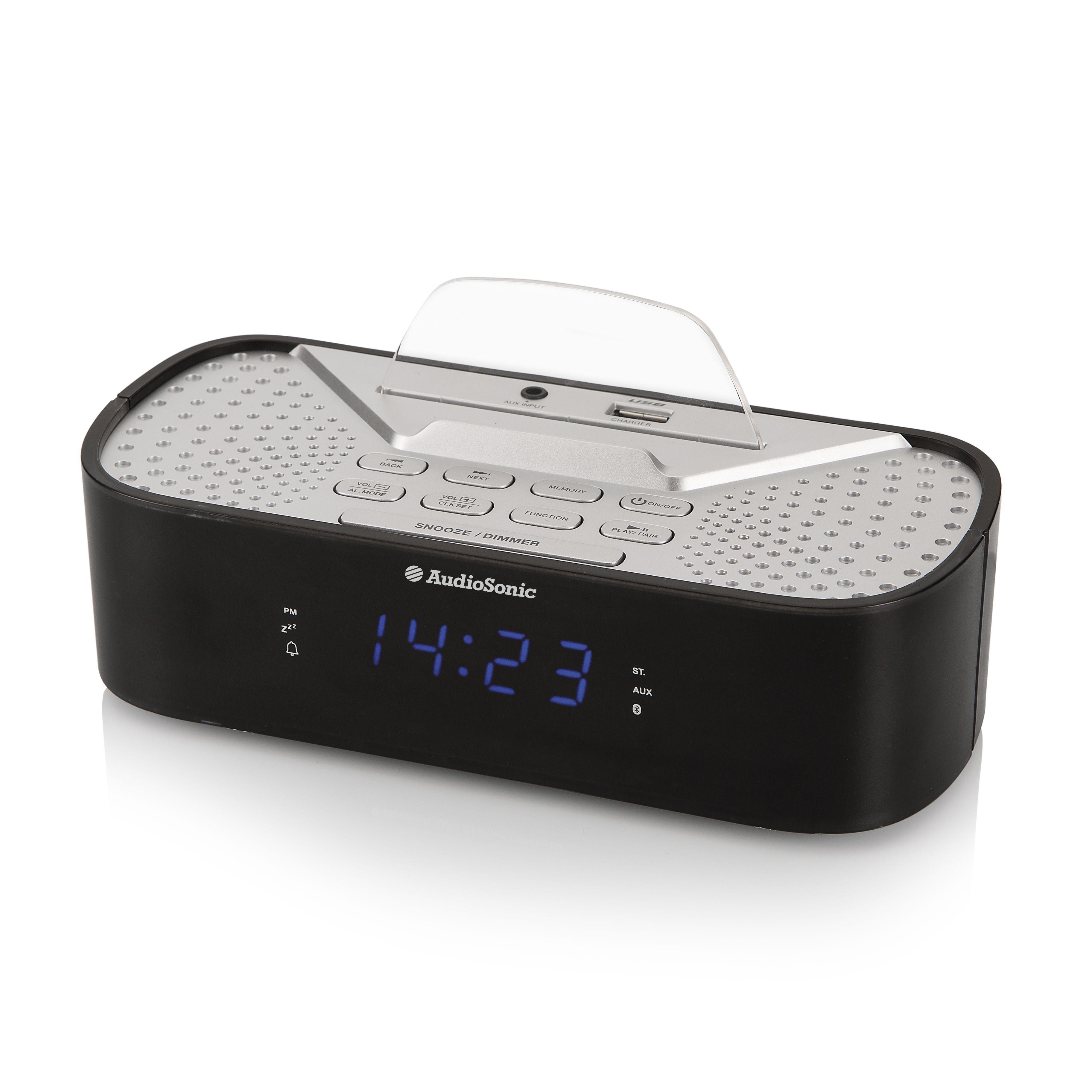 7ba9c97441f AUDIOSONIC - Rádio Relógio CL - 1463