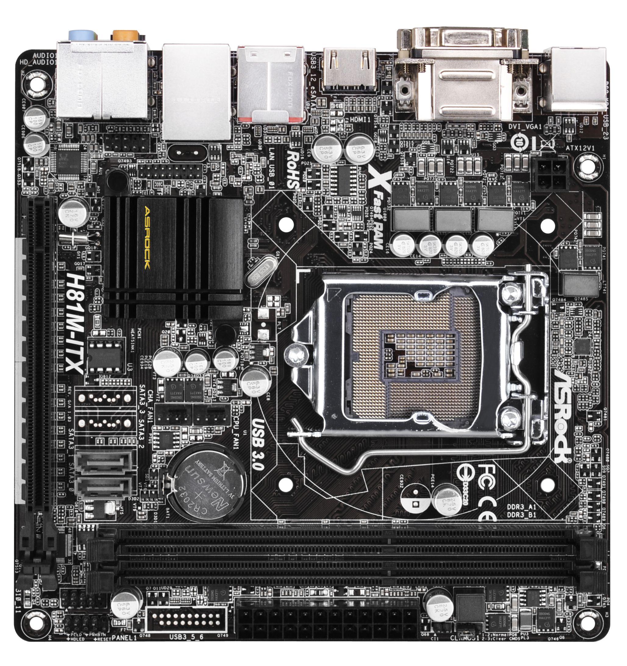 ASRock H81M-ITX Atheros LAN Driver for PC
