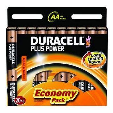 44bd2ca36e8 DURACELL - PLUS POWER AA 20 PACK