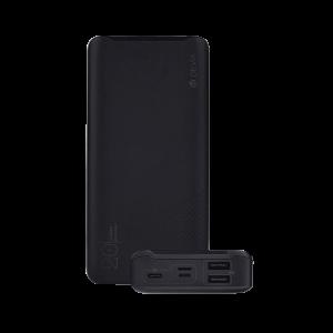 DEVIA - Powerbank SmartSpeed PD 20.000mAh - Preto
