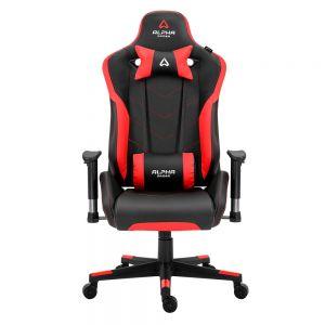 ALPHA GAMER - Cadeira Zeta Preto/Vermelho