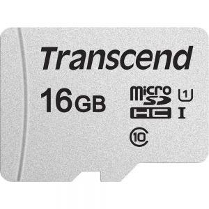 TRANSCEND - 16GB UHS-I U1 C10 MICROSD COM ADAPT