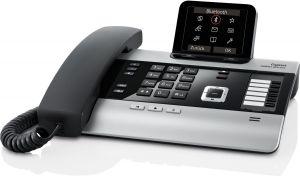 GIGASET - DX800A ALL IN ONE - TELEFONE COM FIOS / TELEFONE VOIP / TELEFONE ISDN - SISTEMA DE RESPOSTA COM IDENTIFICAÇÃO DO CHAMA