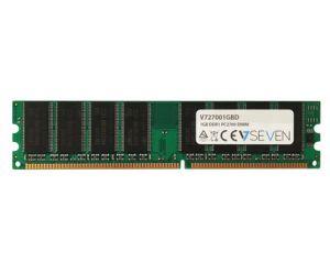 V7 - 1GB DDR1 333MHZ CL2.5 MEM DIMM PC2700 2.5V - V727001GBD