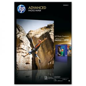 HP - Advanced Glossy Photo Paper 250 g / m²-A3 / 297 x 420 mm / 20 sht