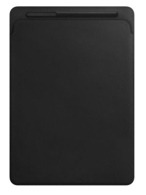 APPLE - Leather Sleeve for 12.9-inch iPad Pro - Black
