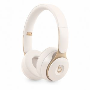 APPLE - Auscultadores Beats Solo Pro Wireless Noise Cancelling - Ivory