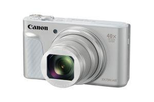 CANON - PowerShot SX730HS Silver - CMOS tipo 1/2,3P com retroiluminação, 20.3 MP, DIGIC 6 com tecnologia iSAPS, Zoom Ótico 40x, ZoomPlus 80x, Wi-Fi e NFC, LCD (TFT) de 7,5 cm (3,0P) de tipo inclinável