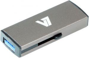 V7 - AXPRO - SLIDER USB STICK 16GB MEM USB 3.0 GREY